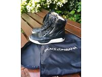 Dolce & Gabbana boot/trainers with side zip