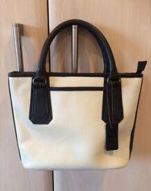 Brand new cream & black Pia handbag