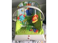 Fisher Price Rainforest Vibrating Chair