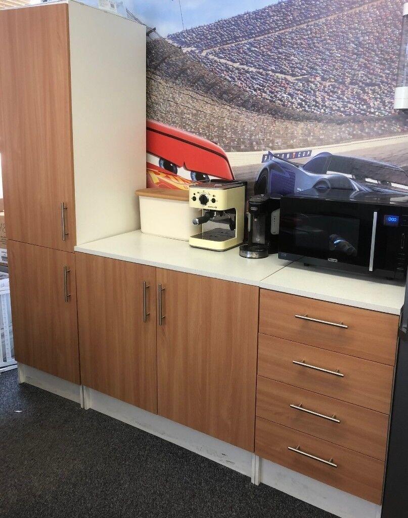 3 Piece Kitchen Cabinet And Drawer Unit Set In Heathrow London