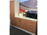 3 Piece Kitchen Cabinet and Drawer Unit Set