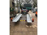 Trailer hire and transportation