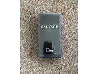 100ml Dior sauvage aftershave