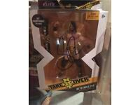 WWE SETH ROLLINS HAND SIGNED NXT TAKEOVER FIGURE + COA FROM WWE