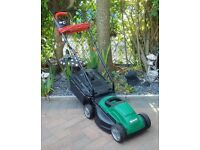 as new electric lawn mower,
