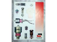 Svetlana valve audio product spec brochure(s)