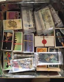Old tea card sets