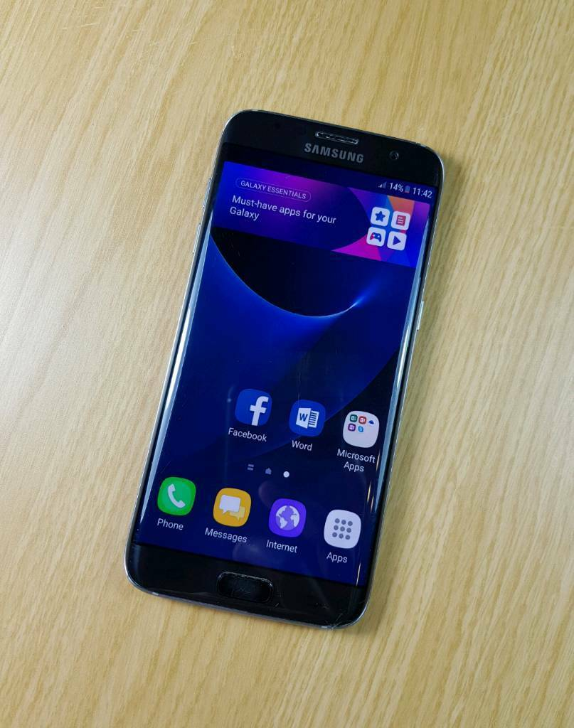 Samsung Galaxy S7 Edge (32GB) - Black