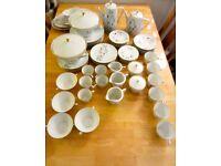 """Bavaria """"Monika"""" fine porcelain dinner service from 1950's"""