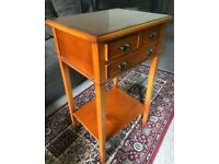 Vintage Small Console Table