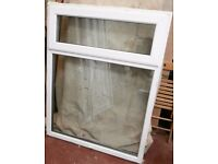 UPVC Window Glazed with Clear Glass