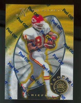 1997 Pinnacle Totally Certified Platinum Mirror Gold #138 Kevin Lockett 30/30 RC