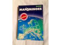 MAPONIMOES EUROPE The Ultimate Geography Game. Like Dominoes With Maps. Complete