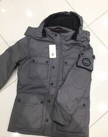 Brand New With Tags Men's Canada Goose Jackets Grey £50