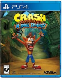 Sony PlayStation 4 PS4 Game Crash Bandicoot N Sane Trilogy Brand New Sealed £25