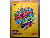 Lego Cards, Create The World, Collectors Album, Complete, from Sainsbury's