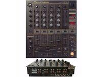 Pioneer DJM 600 4 channels Effects Dj Mixer