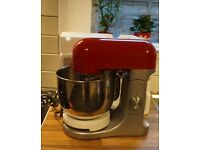 Kenwood kMix Stand Mixer Raspberry Red ( Barely used)