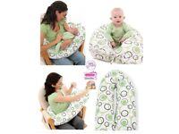 Dream Genii Breastfeeding Pillow and Baby nest