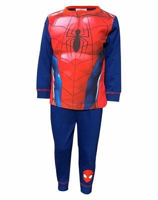 Boys Spiderman Novelty Pyjamas Costume Dress Up Pyjama Sleepwear Age 2-8 Yrs