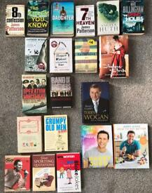 Various book in different genres (will sell as bundle or separately)