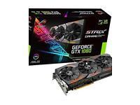 ASUS - GeForce GTX 1080 8 GB ROG STRIX Graphics Card