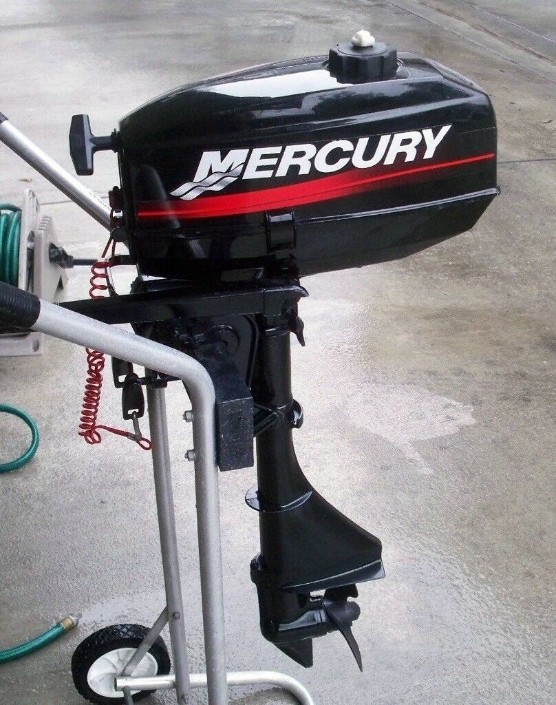 Mercury 2 5hp outboard engine 2 stroke dingy engine boat engine good  condition | in Bransholme, East Yorkshire | Gumtree