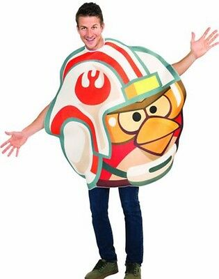 NEW Adult Angry Birds Star Wars X-Wing Pilot Costume - Size: Unisex One Size
