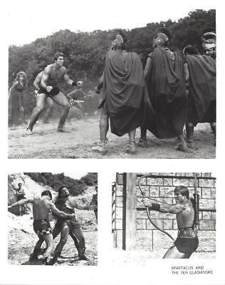 "Dan Vadis, ""Spartacus and the Ten Gladiators"" Vintage Movie Still"