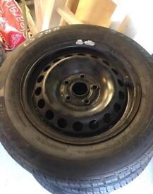 VW/Audi/Skoda wheels, new tyres