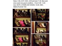Shoes.. Large Selectionn