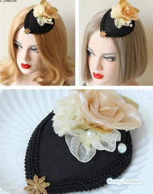 Black Faux Pearls Mermaid Hat Mermaid Costume Accessories - Mermaid Costume Accessories