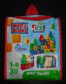 Mega Bloks 'ABC Spell' First Builders Set
