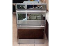 CDA Fitted Double Oven - spares or repair. Free.