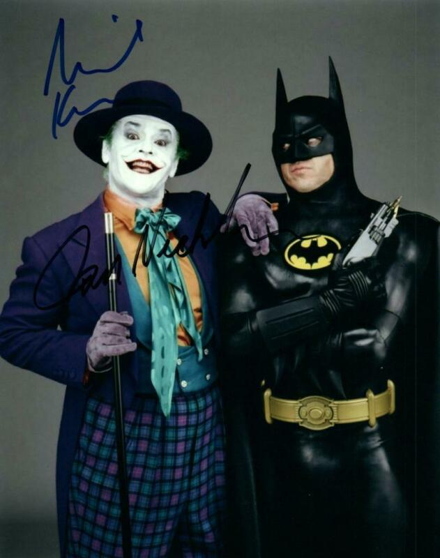 Michael Keaton Nicholson signed 8x10 Photo + COA autographed Picture very nice