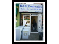 Washing Machines -Tumble Dryers - Condensers - Dyson - All Re-Furbished Appliances - Shop Local