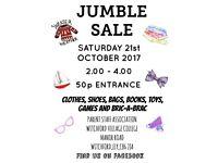 Witchford Village College Jumble Sale