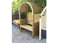 Modena Garden Arbour. Ready Built. PICK UP TODAY.