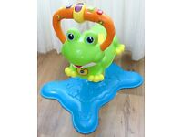 VTech Baby Bounce and Discover Frog.