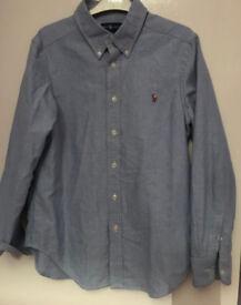 2 Ralph Lauren Shirts (10-12)