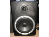 Carillon AM08 Active Studio Monitors Speakers Bass powered