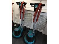 2 Truvox Floor Buffer Polisher Scrubbers