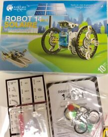 Toys, educational Robot solar 14