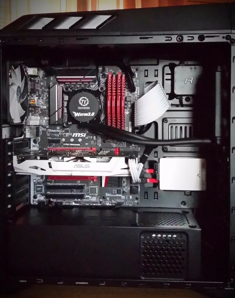 Gaming PC 6600k 1060 6gb 250gb SSD 16gb RAM