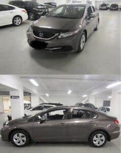 Great offer Honda civic 2013 with safety and winter tires