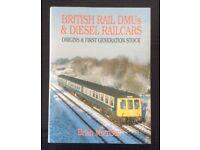 RAILWAY BOOK. BRITISH RAIL DMU's & DIESEL RAILCARS BY BRIAN MORRISON FOR SALE