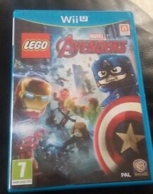 Avengers Lego WiiU game NEW