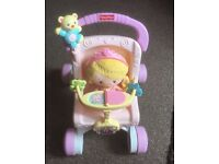 FisherPrice 1st Stroller with doll
