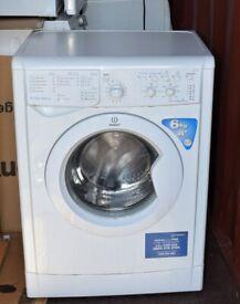 Indesit 6kg Slim Depth Washing Machine- White