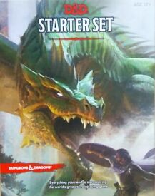 D&D starter set -EVERYTHING you need to play the best board game